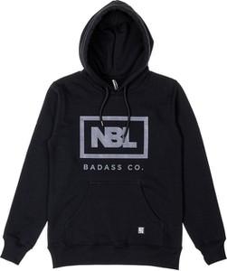 Czarna bluza New Bad Line w młodzieżowym stylu
