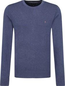Sweter Tommy Hilfiger z jedwabiu w stylu casual
