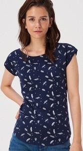T-shirt Sinsay w młodzieżowym stylu