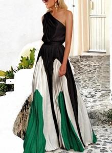 Sukienka Sandbella asymetryczna maxi
