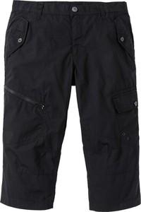 Czarne spodnie bonprix RAINBOW w stylu casual