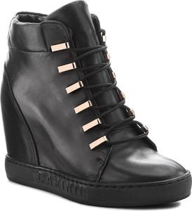 1b9d6bdd2e0a Sneakersy bez wzorów Carinii