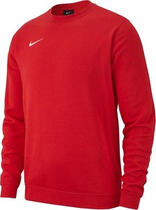Czerwona bluza Nike z dresówki