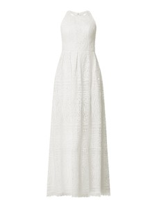 Sukienka Unique bez rękawów maxi z dekoltem w kształcie litery v