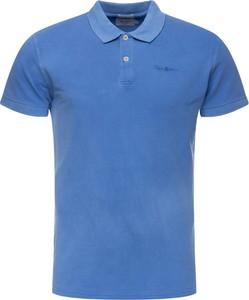 Koszulka polo Pepe Jeans w stylu casual z krótkim rękawem