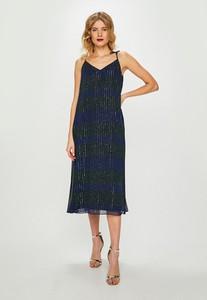 Sukienka Tommy Hilfiger z tkaniny