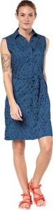 Niebieska sukienka Jack Wolfskin bez rękawów mini