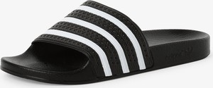Czarne buty letnie męskie Adidas Originals