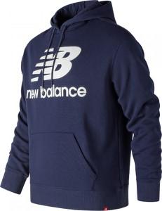 Niebieska bluza New Balance w młodzieżowym stylu