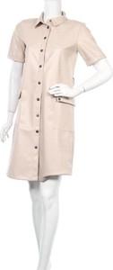Sukienka Noisy May w stylu casual mini z kołnierzykiem