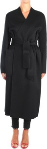 Czarny płaszcz Liviana Conti w stylu casual