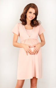 92d48a437f7321 piżama ciążowa długi rękaw - stylowo i modnie z Allani