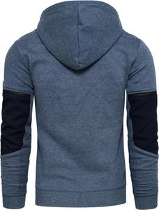 Niebieska bluza Recea z bawełny