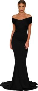 Elegrina sukienka wieczorowa kelcey czarna