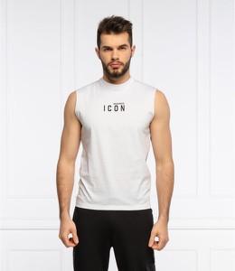 T-shirt Dsquared2 z krótkim rękawem z bawełny w młodzieżowym stylu