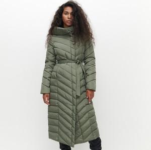 Zielony płaszcz Reserved w stylu casual