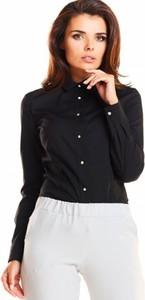 Czarna koszula Awama