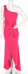 Różowa sukienka Goddiva bez rękawów