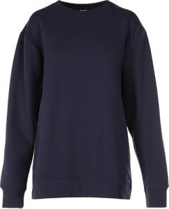 Granatowa bluza born2be w stylu casual