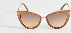Brązowe okulary damskie Mohito