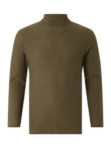 Zielony sweter Review w stylu casual