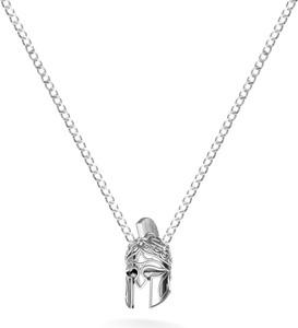 GIORRE Naszyjnik chełm SPARTAN srebro 925 : Długość (cm) - 60, Kolor pokrycia srebra - Pokrycie Jasnym Rodem