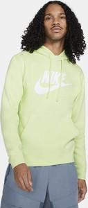 Zielona bluza Nike z plaru w sportowym stylu