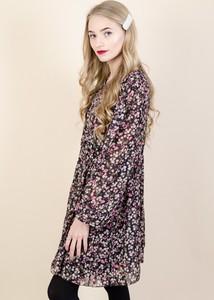 Sukienka Olika z szyfonu mini w stylu casual