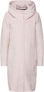 Różowy płaszcz Object w stylu casual