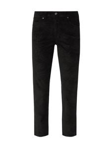 Czarne spodnie Angels w młodzieżowym stylu ze sztruksu