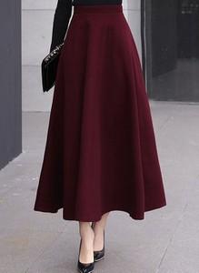 Czerwona spódnica Cikelly