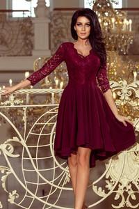 Czerwona sukienka NUMOCO midi