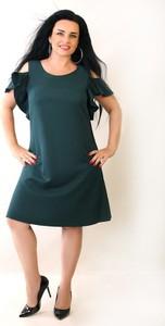 Zielona sukienka Oscar Fashion midi