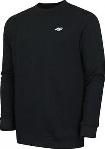 Czarna bluza 4F z bawełny