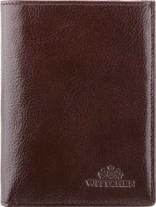 Brązowy portfel męski Wittchen