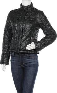 Czarna kurtka Peckott w stylu casual ze skóry krótka