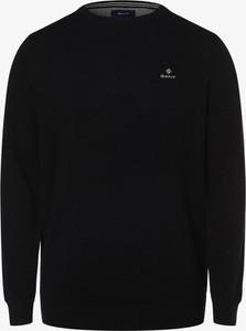 Niebieski sweter Gant z bawełny