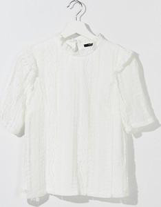 Bluzka Mohito w stylu casual z krótkim rękawem z okrągłym dekoltem