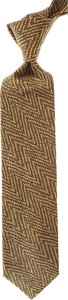 Złoty krawat Missoni