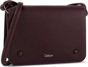 Czerwona torebka Gabor na ramię