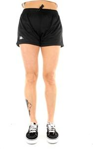 Czarne szorty Kappa w stylu casual