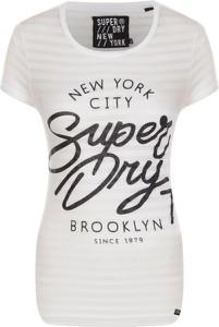 T-shirt Superdry z okrągłym dekoltem w młodzieżowym stylu z krótkim rękawem