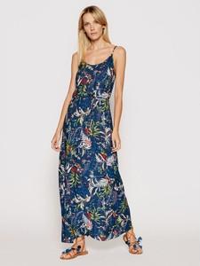 Sukienka TRIUMPH z dekoltem w kształcie litery v maxi na ramiączkach