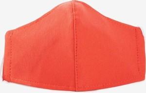 Royalfashion.pl Czerwona 2 warstwowa maseczka ochronna na twarz - Maseczki
