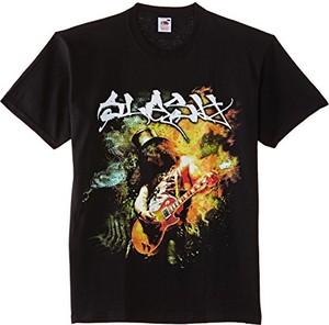 Brązowy t-shirt slash