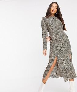 Sukienka Topshop Tall z długim rękawem