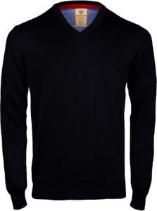 Czarny sweter WARESHOP z bawełny