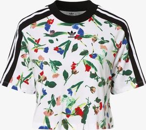 T-shirt Adidas Originals z okrągłym dekoltem z krótkim rękawem