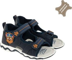 Buty dziecięce letnie Cool Club dla chłopców ze skóry