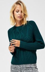 Zielony sweter Moodo